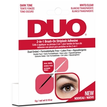 1 set - Ardell DUO 2in1 Brush On Adhesive