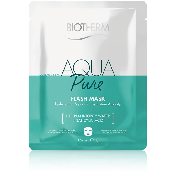 Aqua Pure Flash Mask - Hydration & Purity (Kuva 1 tuotteesta 2)