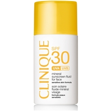 30 ml - Clinique SPF 30 Mineral Sunscreen For Face