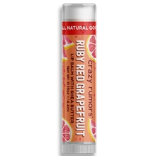 Crazy Rumors Ruby Red Grapefruit Lip Balm