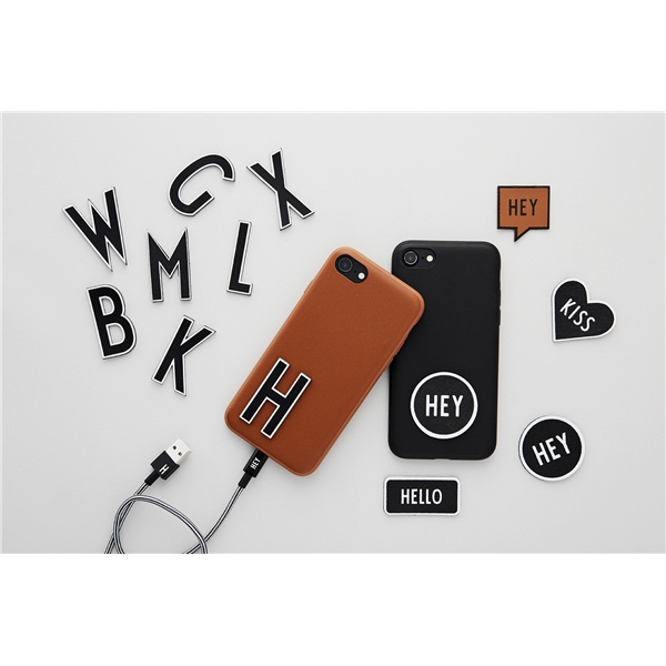 Design Letters MyCover Stickers Smile Black (Kuva 2 tuotteesta 2)