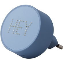 Blue - Design Letters Pearl Charger