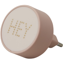 Nude - Design Letters Pearl Charger