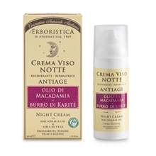 Erboristica Night Cream - Macademia Oil