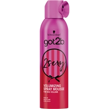 250 ml - got2b 2 Sexy Spray Mousse