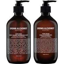 1 set - Grown Alchemist Twin Set Hand Wash & Cream