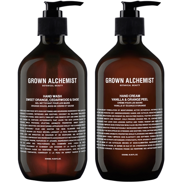 Grown Alchemist Twin Set Hand Wash & Cream (Kuva 1 tuotteesta 2)
