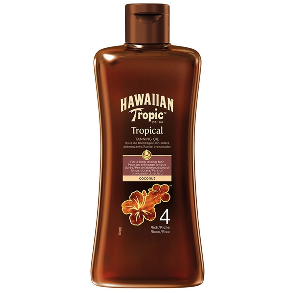Tropical Tanning Oil Spf 4 Rich 200 ml