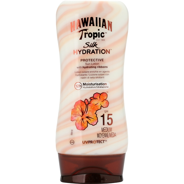 Silk Hydration Lotion Spf 15 180 ml, Hawaiian Tropic