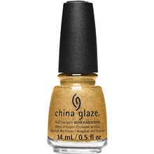 14 ml - No. 711 Gold Mine Your Business  - China Glaze Gone West Collection