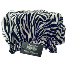 Zebra Shower Cap