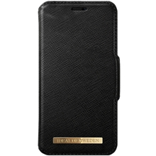 Black - iDeal Fashion Wallet Iphone XR
