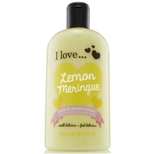 500 ml - Lemon Meringue Bath & Shower Crème