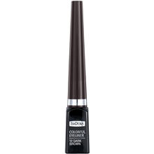 3.7 ml - No. 012 Dark Brown - IsaDora Colorful Eyeliner