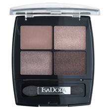 5 gr - No. 010 Soft Suede - IsaDora Eye Shadow Quartet