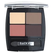 5 gr - No. 014 Peach Avenue - IsaDora Eye Shadow Quartet