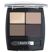 5 gr - No. 015 Coffee & Cream - IsaDora Eye Shadow Quartet