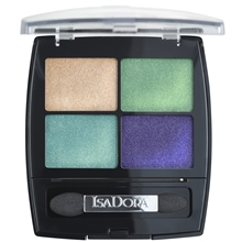 5 gr - No. 016 Palm Beach - IsaDora Eye Shadow Quartet