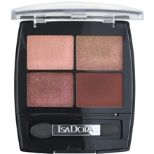 5 gr - No. 017 Sunset Glow - IsaDora Eye Shadow Quartet