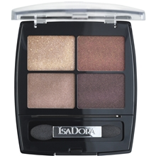 5 gr - No. 018 Boho Browns - IsaDora Eye Shadow Quartet
