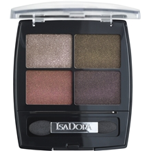 5 gr - No. 020 Urban Jungle - IsaDora Eye Shadow Quartet
