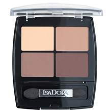 5 gr - No. 044 Muddy Nudes - IsaDora Eye Shadow Quartet