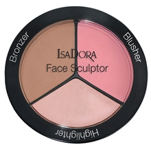 18 gr - No. 002 Cool Pink - IsaDora Face Sculptor