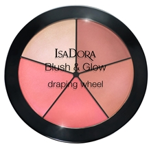 18 gr - No. 055 Peachy Rose Pop - IsaDora Blush & Glow Draping Wheel