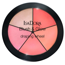 18 gr - No. 056 Coral Pink Pop - IsaDora Blush & Glow Draping Wheel