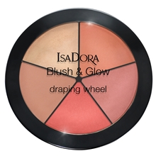 IsaDora Blush & Glow Draping Wheel