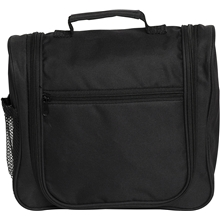 Black Hanging Toiletry Bag