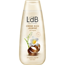 LdB Shower Cream Rich Jasmine - Dry Skin