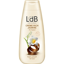 250 ml - LdB Lotion Creme Rich, Jasmine