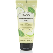 100 ml - Elderflower Fizz Scented Hand & Nail Cream