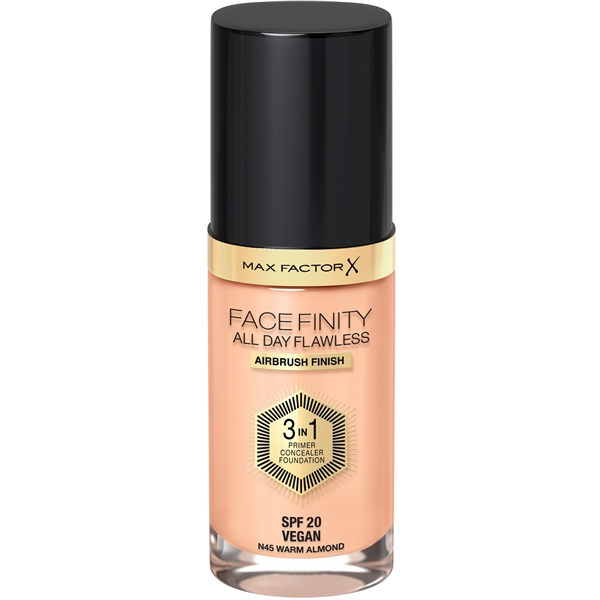 Facefinity All Day Flawless - 3 in 1 Foundation 30 ml No. 045