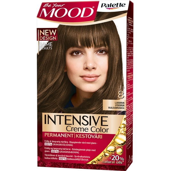 MOOD Hair Color 1 set No. 008