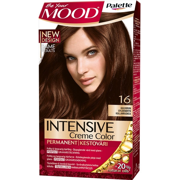 MOOD Hair Color 1 set No. 016