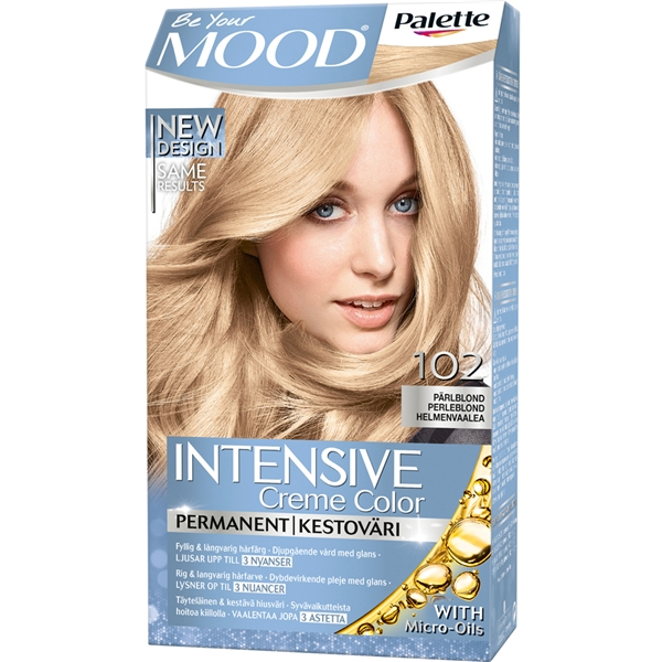 MOOD Hair Color 1 set No. 102