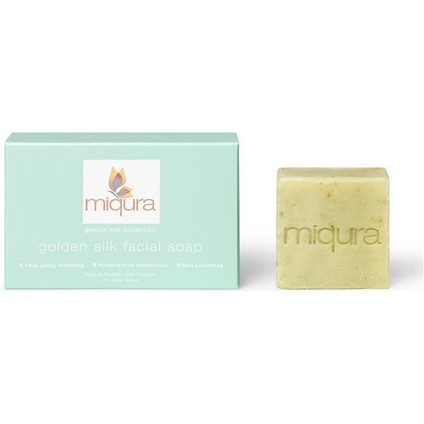 Miqura Golden Silk Facial Soap