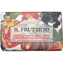 250 gr - Il Frutteto Pomegranate & Blackcurrant Soap