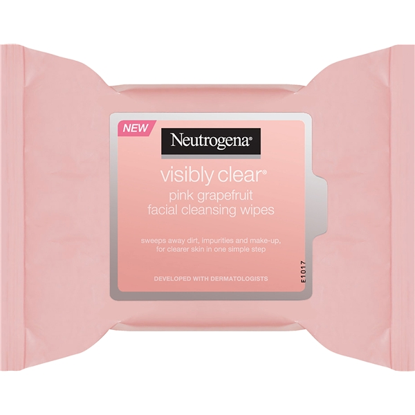 Pink Grapefruit Facial Cleansing Wipes