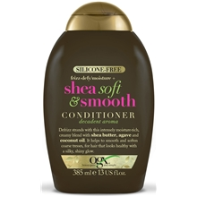 385 ml - Ogx Shea Soft & Smooth Conditioner