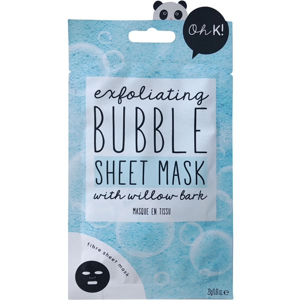 Oh K! Exfoliate & Cleanse Bubble Sheet Mask