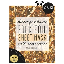 Oh K! Dewy Skin Gold Foil Sheet Mask