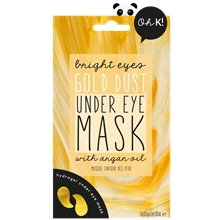 Oh K! Bright Eyes Gold Dust Under Eye Mask