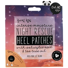 4 kpl/paketti - Oh K! Night Rescue Heel Patches