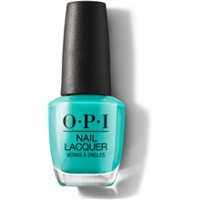 15 ml - No. 074 Dance Party 'Teal Dawn - OPI Nail Lacquer Neon Collection