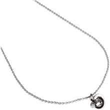 PEARLS FOR GIRLS Knot Necklace Silver