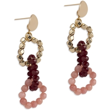 1 set - PEARLS FOR GIRLS Happy Chain Earring