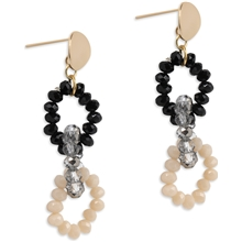 1 set - PEARLS FOR GIRLS Happy Chain Grey Earring